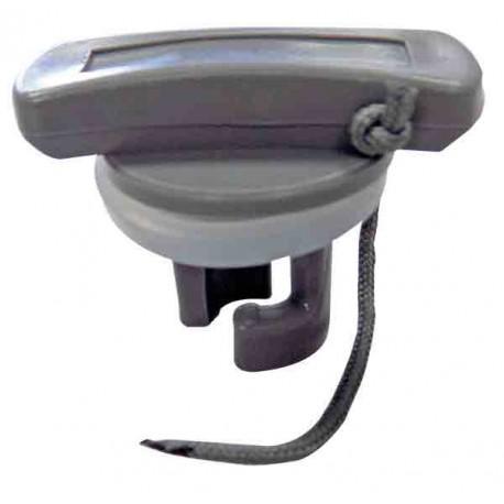 Tapon para valvula de hinchables - Tapon para valvula de hinchables.   Tapón para hinchables o neumaticas con válvula tipo Halkey Roberts