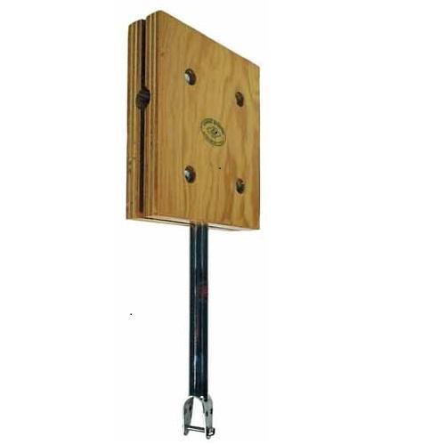 Soporte de motor fueraborda, para pulpito - Soporte fijo para motores fueraborda..   Para instalar en púlpitos de 22 a 25mm..   Tablero de madera con herrajes de acero inoxidable.