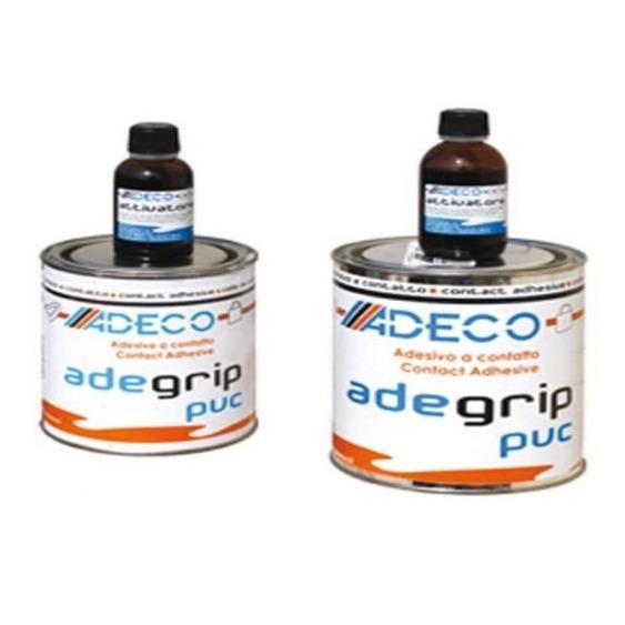 Adhesivo para Neumaticas Adeco 2 Componentes. (PVC-PU) - KIT COLA + ACTIVANTE (PVC-PU).   Adhesivo de 2 componentes..   Contenido de 125 o 500grr.