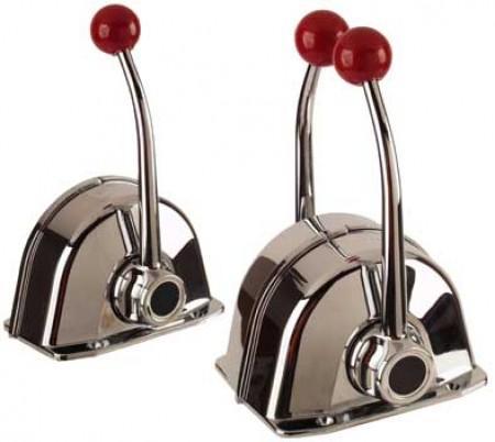 Mando de Control MT-3 Teleflex - Morse de Doble Acción - Para instalaciones de uno o dos motores según el modelo.