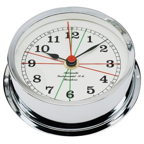 Reloj Zonas de Silencio Caja Cromada 120