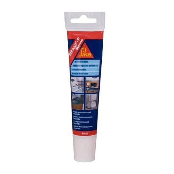 Sellador de Silicona SikaSil P Marine Translucido 85 ml