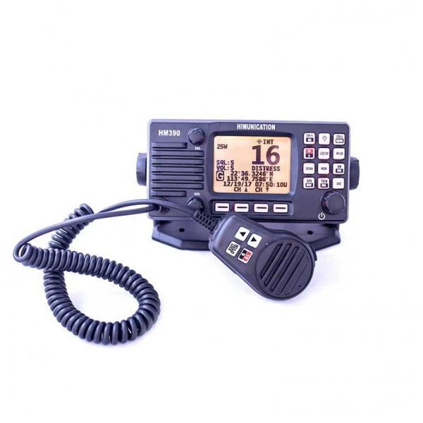 Radio VHF fija HIMUNICATION HM390 SIN DSC para Zona 4 y 5