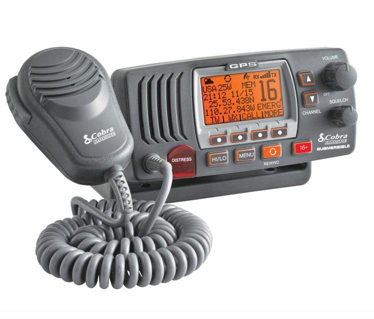 Radio VHF Fija Cobra MR F77B GPS