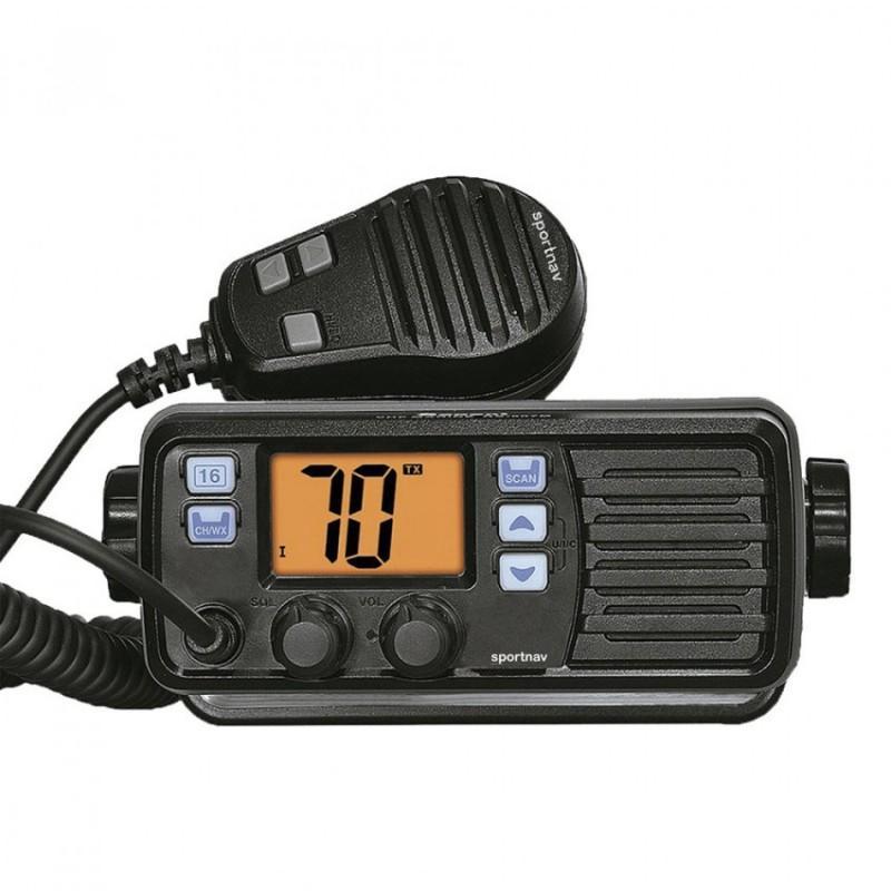 Radio VHF fija Sportnav SPO507 sin DSC para Zona 4, 5 y 6