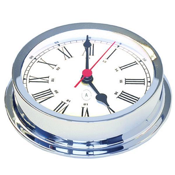 Reloj de Cuarzo Náutico con Números Romanos 175 Cromado