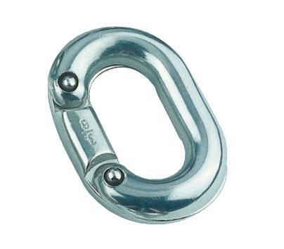 Eslabon Inox 316 para union de cadena - Eslabón de acero inoxidable AISI 316 para unión de cadena