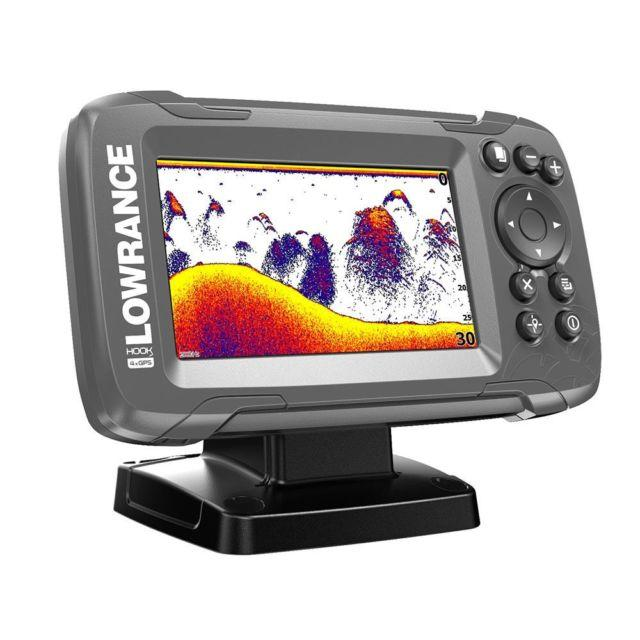 Lowrance HOOK² 4x con transductor Bullet y plotter GPS CE