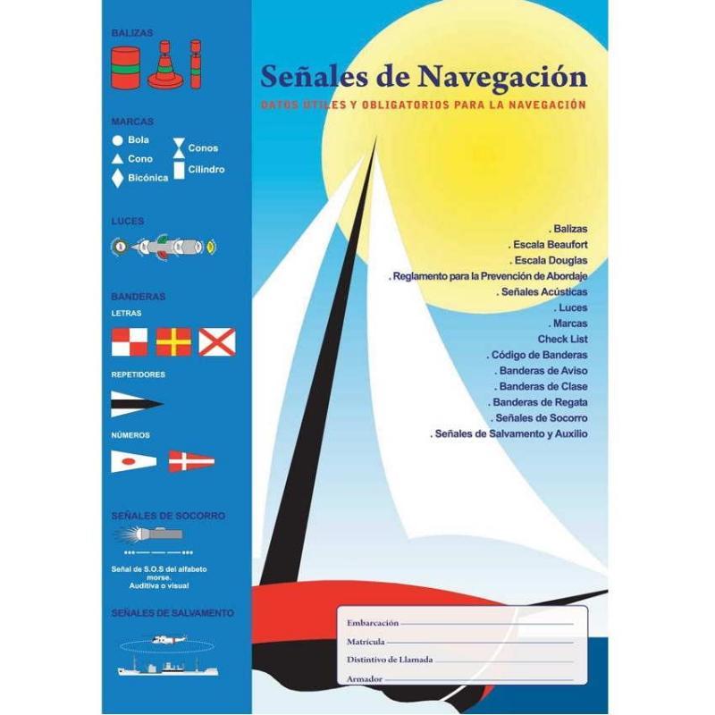 Señales de navegacion - Desplegable