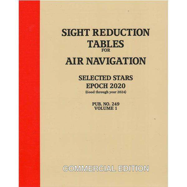 Sight Reduction Tables HO-249 Air Navigation Volume 1 Selected Stars – Epoch 2020