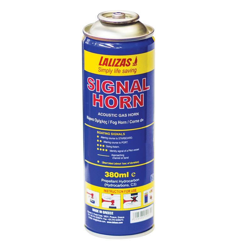 Botella de Recambio para Bocina de Gas Liquido 380 ml