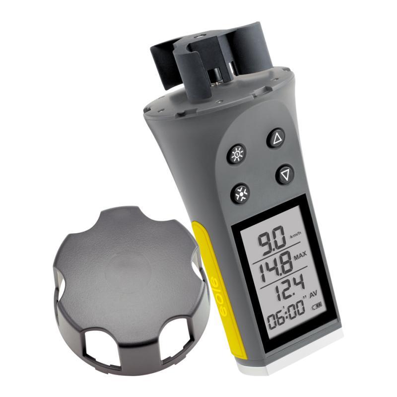 Anemometro digital Skywatch Eole 1 cazoletas - Anemómetro portátil digital de cazoletascon gran pantalla que facilita la lectura. No precisa enfrentarlo al viento.
