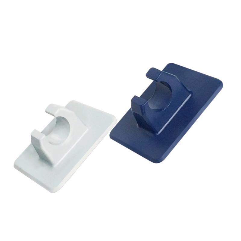 Gancho de PVC con base en Blanco o Azul