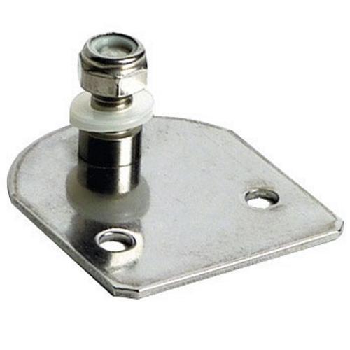 Soporte Placa Plana con Tornillo para Amortiguadores