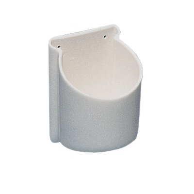 Soporte flexible universal redondo para atornillar