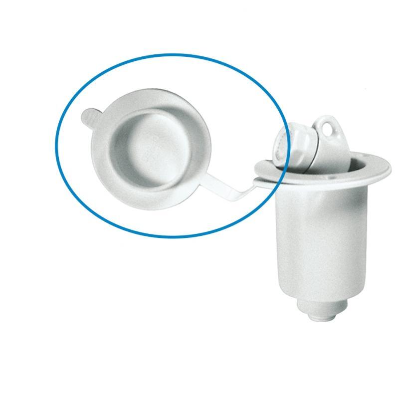 Tapón de goma recambio para caja empotrable ducha