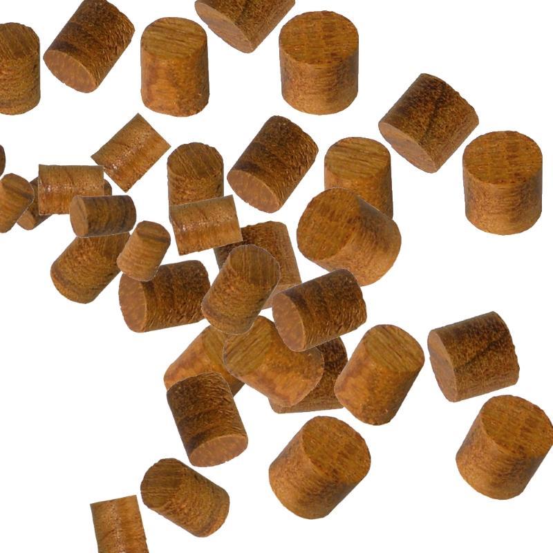 Juego de Tapones de Teka set varios diametros 40 Unidades