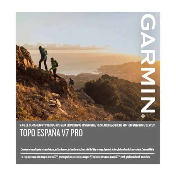 Cartografia GARMIN TOPO España v7 PRO / microSD/SD