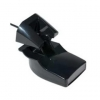 Transductor de popa Garmin de 50/200 KHz, 500W, con temperatura - Sensor de montaje en espejo de popa con sensores de profundidad y temperatura.