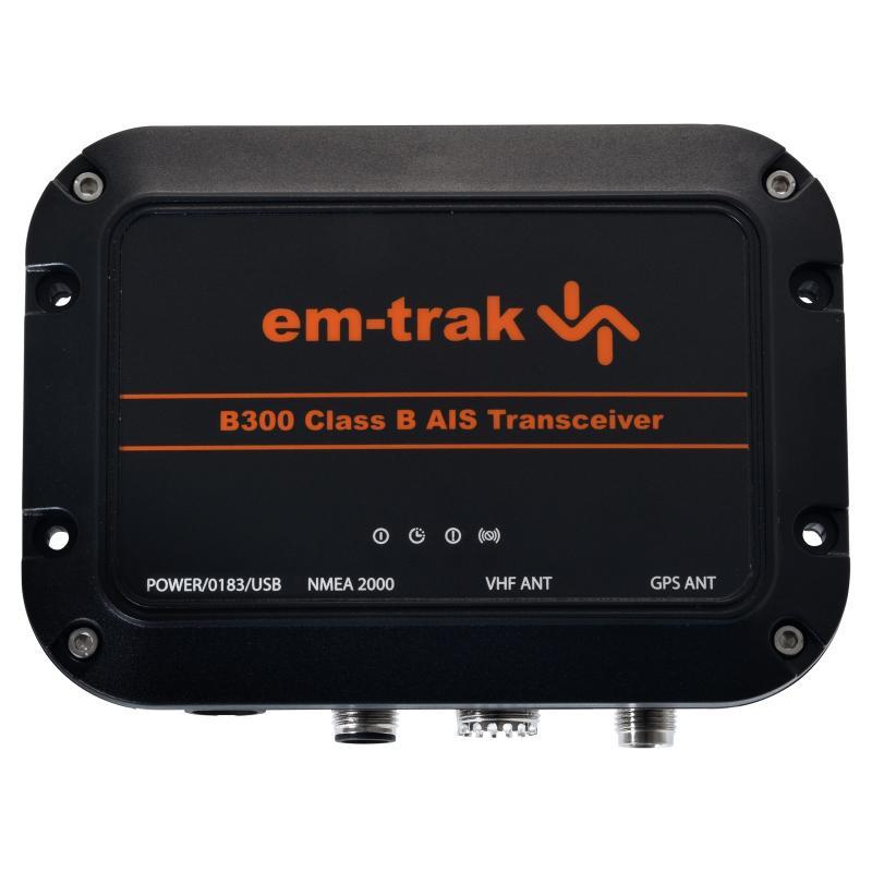 Transmisor / receptor AIS Em-Trak B300 Clase B con GPS integrado