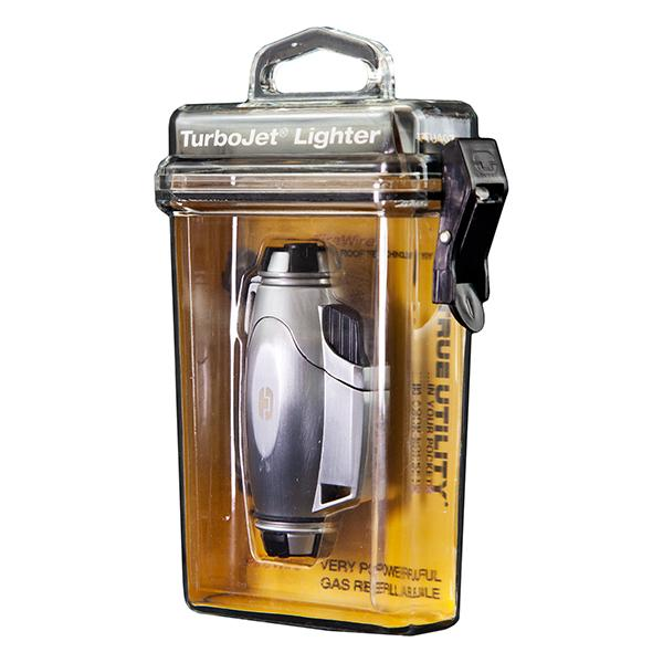 Encendedor True Utility TU407 Turbojet Lighter - Mechero sin llama. Ideal para días con viento
