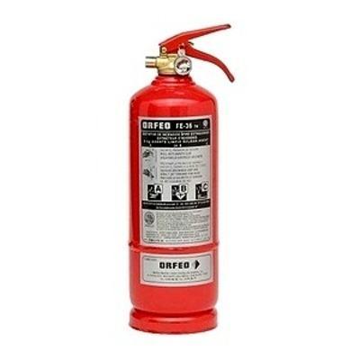 Extintor para Marina de Polvo Seco ABC. 6 Kg Manual