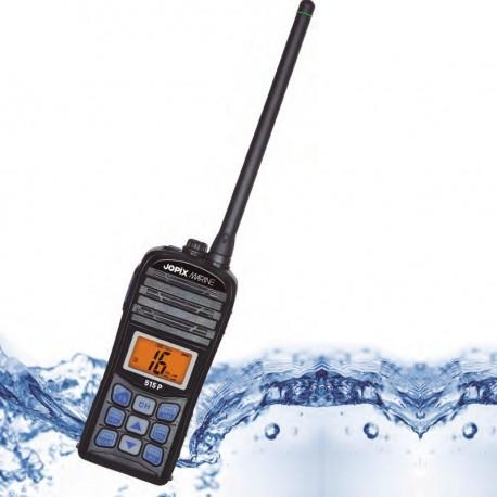 Radiotelefono VHF marino portatil JOPIX 515P (Homologado IP67)