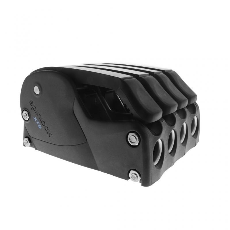 Mordaza automatica Spinlock XTS 6-10mm - Triple - Mordaza automática para retención de cabos con cargas medias y más altas. Carga máxima autorizada con diámetro de línea máximo: 700 Kg.