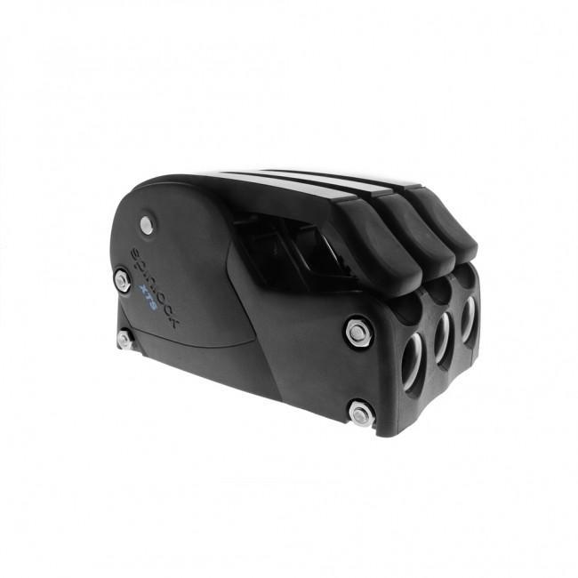 Mordaza automatica Spinlock XTS 8-14mm - Triple - Mordaza automática para retención de cabos con cargas medias y más altas. Carga máxima autorizada con diámetro de línea máximo: 1000 Kg.