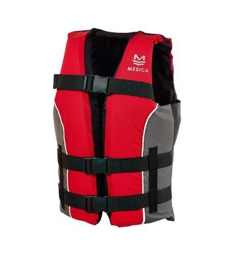 Chaleco Ayuda a la flotabilidad Deep Blue 50N, EN12402-5 Color Rojo