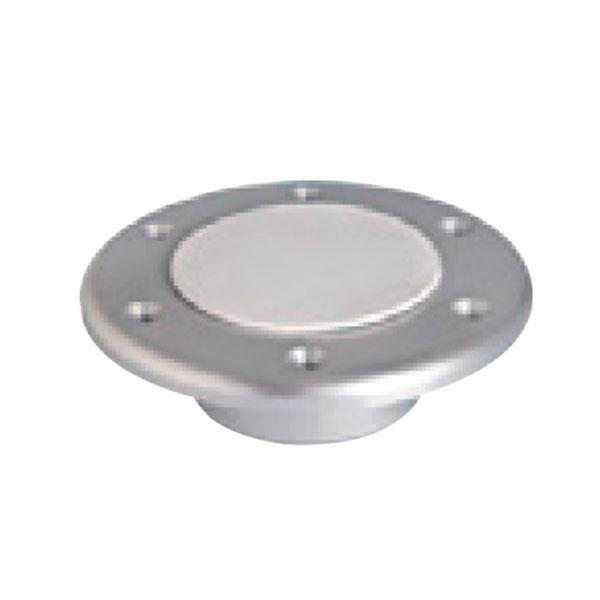 Base inferior empotrable de Aluminio, para Pedestal de Mesa Nuova Rade