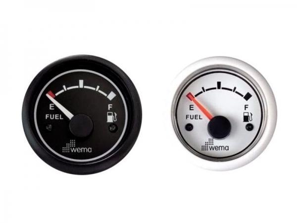 Indicador de nivel combustible Wema 0-190 Ohm