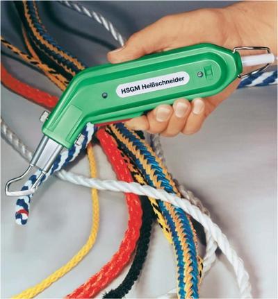 Cortador caliente HSGM para cabos y tejidos