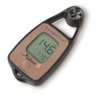 Anemometro termometro digital Xplorer 3 con compas - Anemómetro digital de mano con temperatura y compás.