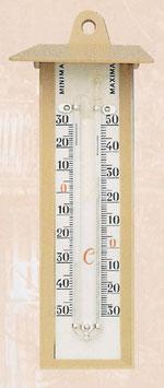Termómetro Exterior Máxima / Mínima - Indica la temperatura actual así como la máxima y mínima que ha habido desde el último borrado.