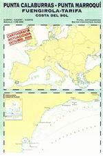 Carta Náutica Punta Calaburras-Punta Marroquí PP-21 - Carta náutica de Punta Calaburras - Punta Marroquí. De Fuengirola a Tarifa. Costa del Sol..   Escala 1: 95.000