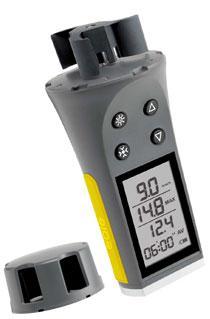 dfc0aac0d Anemometro digital Skywatch Eole 1 cazoletas - Anemómetro portátil digital  de cazoletas con gran pantalla que