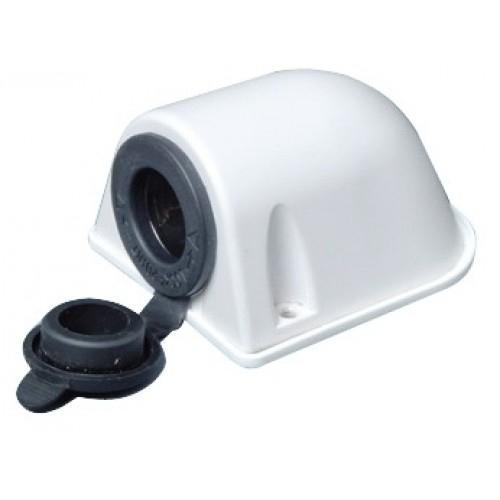 Toma encendedor exterior en caja 12v 16a conector for Contacto para exterior